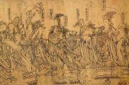 怎样画中国画人物线描?
