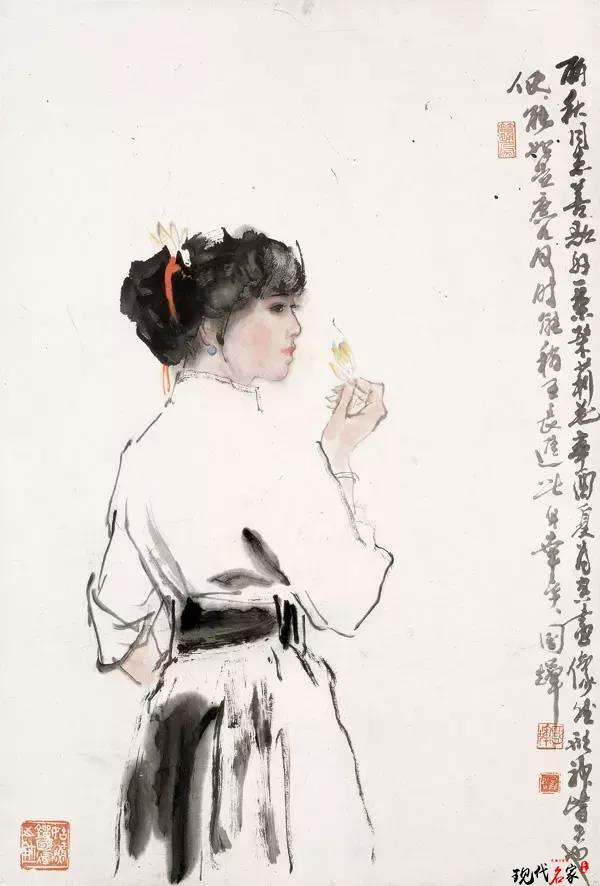 刘国辉:中国画人物画琐谈-第6张
