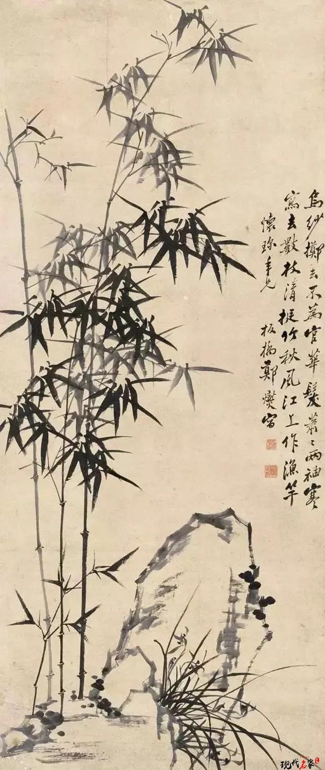 郑板桥的竹子画得好,原来是有秘密-第3张