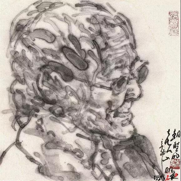 吴山明的宿墨之美-第1张