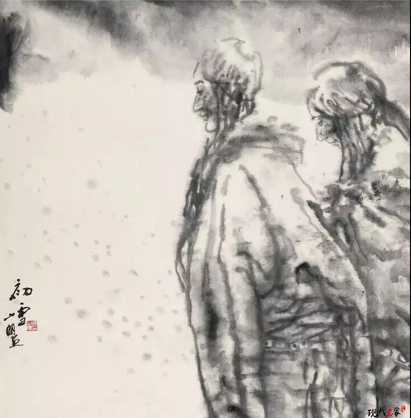 吴山明的宿墨之美-第2张