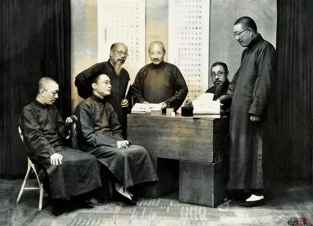 西泠创社四君子王福庵的朋友圈你知道吗?