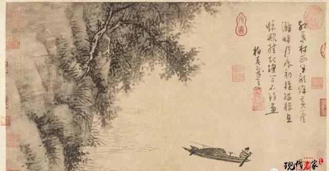 """吴镇的作品为什么多为""""渔夫""""?-第1张"""