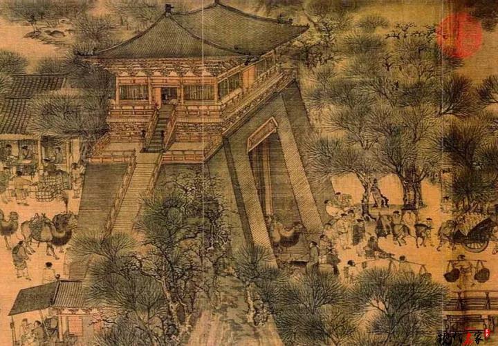通过眼观宋画就知道我们和中国传统距离越来越远了!