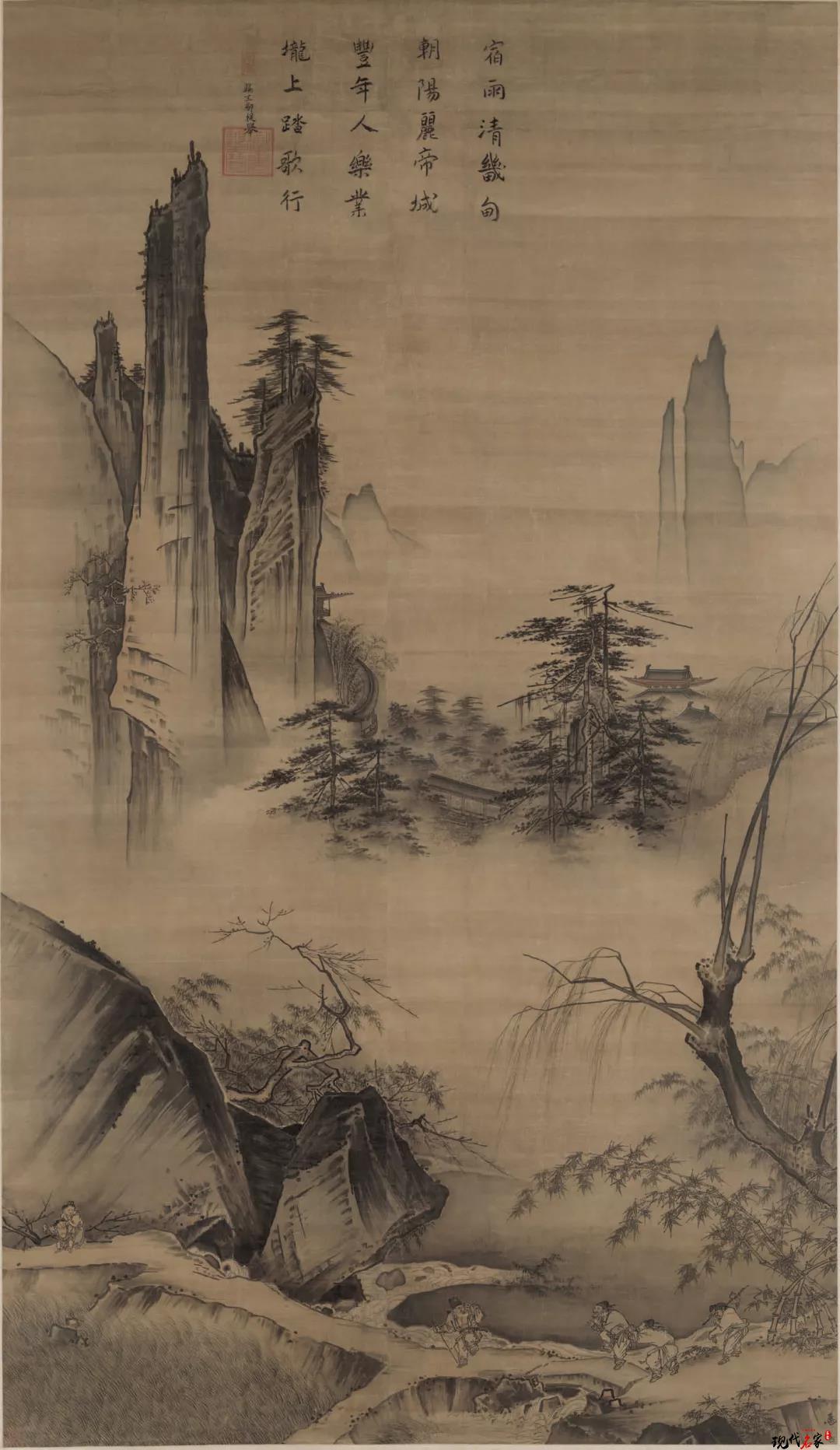 卢禹舜 | 宋代山水画开始注重内心的体验,追求心物圆融的境界-第7张