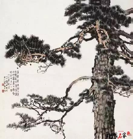 山水画中的树应当这样画-第1张