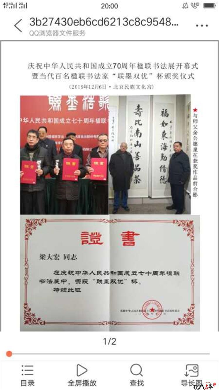 中国现代书法家——林迪、刘文明、王宗标、梁大宏-第12张