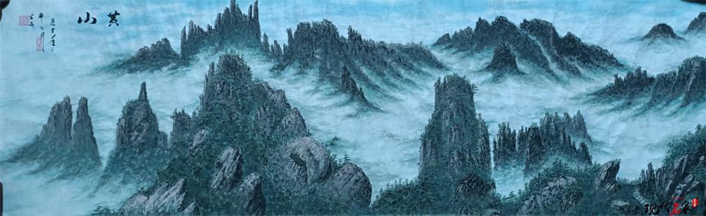 中国现代美术家——梁伦生、王站稼、王梅贤、任义杰、岑宝山、谷昂、武成义、关戈宁、贾保奎、贾士泰-第18张
