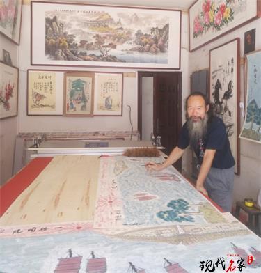 中国现代美术家——梁伦生、王站稼、王梅贤、任义杰、岑宝山、谷昂、武成义、关戈宁、贾保奎、贾士泰