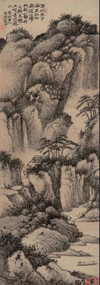 苦瓜和尚山水画,三大艺术贡献-第3张