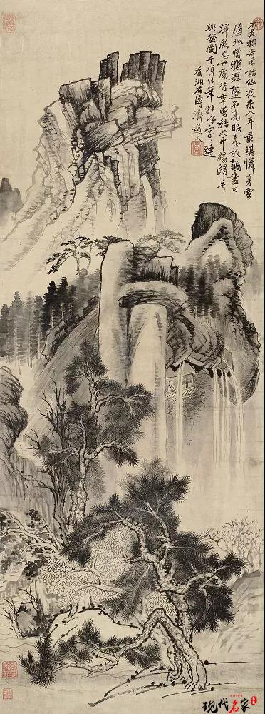 苦瓜和尚山水画,三大艺术贡献-第4张
