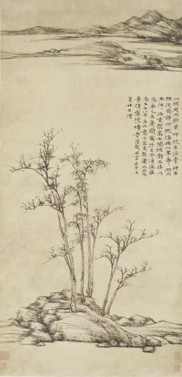 倪瓒山水画中的生命之力-第2张