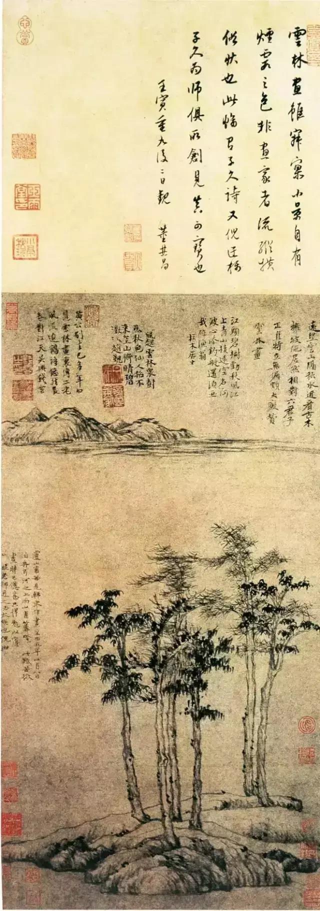 倪瓒山水画中的生命之力-第3张