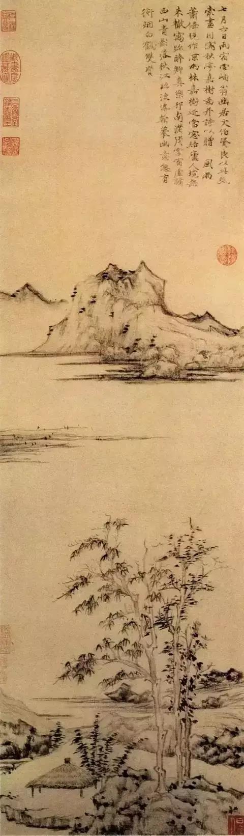 倪瓒山水画中的生命之力-第4张