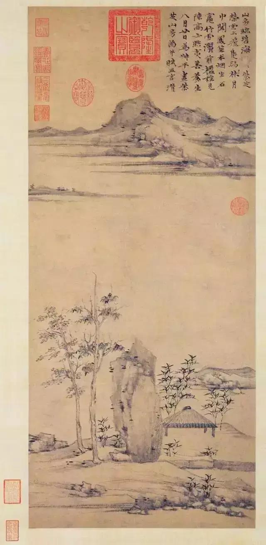 倪瓒山水画中的生命之力-第5张