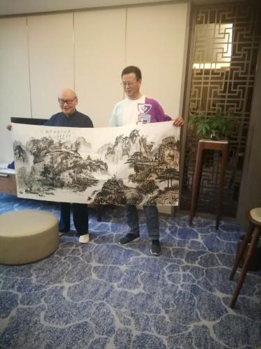 中国现代书画家——彭双全、韩隐、冯尧成、周承启-第4张