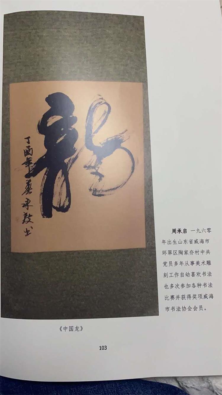 中国现代书画家——彭双全、韩隐、冯尧成、周承启-第12张