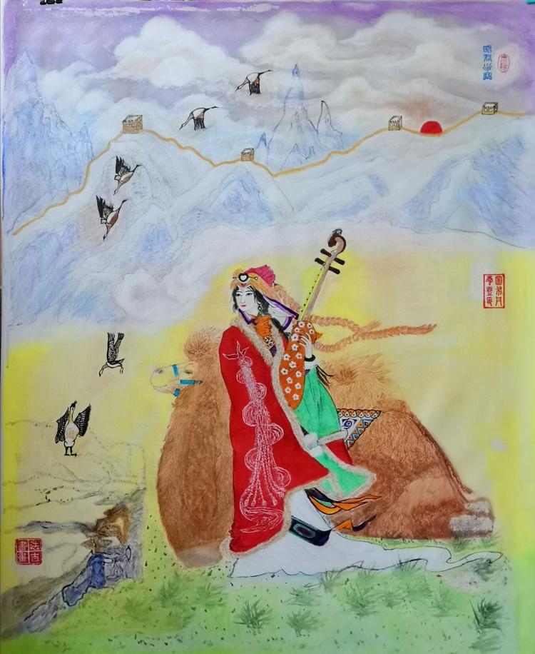中国现代书画家——张福民、高俊祥、张晓东、潘江海-第8张