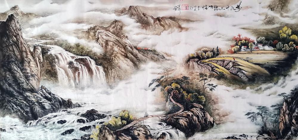 中国现代书画家——何百非-第2张