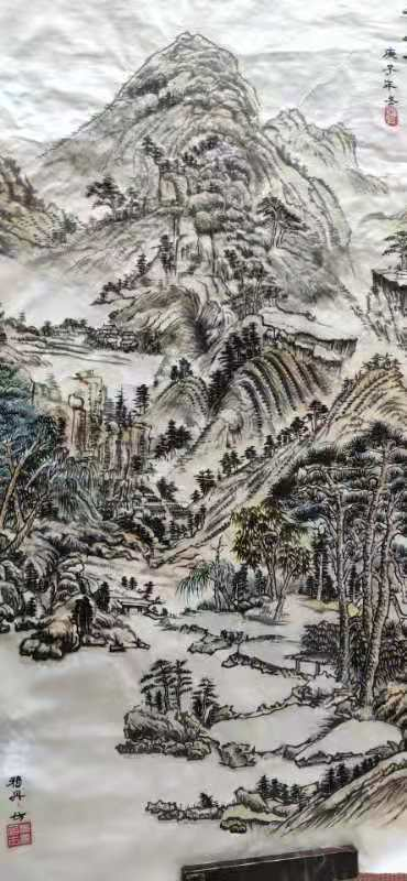 中国现代书画家——穆成海-第2张