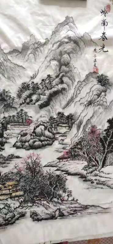 中国现代书画家——穆成海-第3张